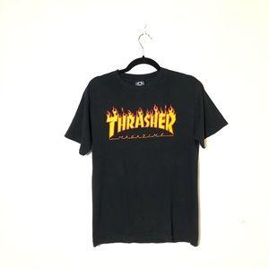 THRASHER Short Sleeve T-Shirt Size M